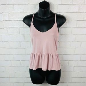 American Eagle soft 'n sexy pink tank size xsmall